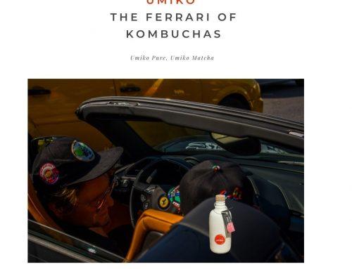 El Ferrari de las kombuchas